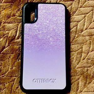 IPhone XS otter box phone case
